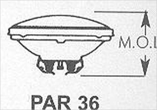 4509 norman sealed beam lamp